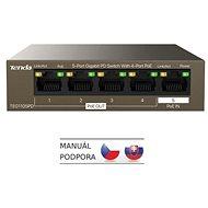Tenda TEG1105PD Gigabit PoE PD Fanless Switch 30 W - Switch