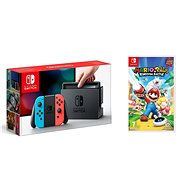 Nintendo Switch - Neon + Mario & Rabbids