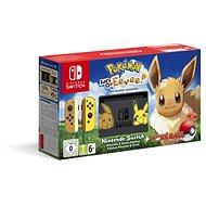 Nintendo Switch + Pokémon: Lets Go Eevee + Poké Ball - Herná konzola