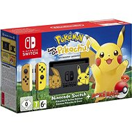 Nintendo Switch + Pokémon: Lets Go Pikachu + Poké Ball - Herná konzola