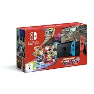 Nintendo Switch Neon + Mario Kart 8 Deluxe - Herná konzola