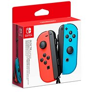 Nintendo Switch Joy-Con ovládače Neon Red / Neon Blue - Gamepad