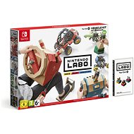 Nintendo Labo - Toy-Con Vehicle Kit pre Nintendo Switch - Hra na konzolu