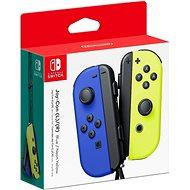 Nintendo Switch Joy-Con ovládače Blue/Neon Yellow - Gamepad