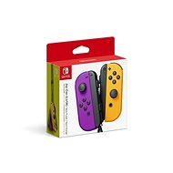 Nintendo Switch Joy-Con ovládače Neon Purple/Neon Orange - Gamepad