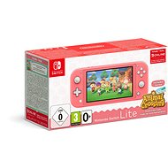 Nintendo Switch Lite - Coral + Animal Crossing + 3M NSO