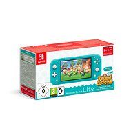 Nintendo Switch Lite - Turquoise + Animal Crossing + 3M NSO