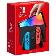 Nintendo Switch (OLED model) Neon blue/Neon red - Herná konzola
