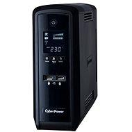 CyberPower GreenPower PFC Sinewave UPS 1300 VA/780 W – SCHUKO, USB, RS-232, LCD displej, lineinteracti