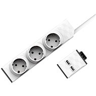 Set PowerStrip Modular 3 m cable + USB modul - Adaptér