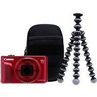 Canon PowerShot SX720 HS červený Travel Kit - Digitálny fotoaparát