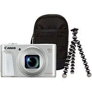 Canon PowerShot SX730 HS strieborný Travel Kit - Digitálny fotoaparát