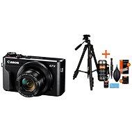 Canon PowerShot G7 X Mark II + Rollei Foto Starter Kit 2 - Digitálny fotoaparát