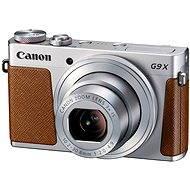 Canon PowerShot G9 X Silver - Digitálny fotoaparát