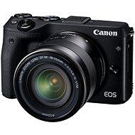 Canon EOS M3 čierny + objektív EF-M 18-55 mm - Digitálny fotoaparát