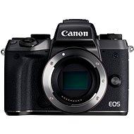 Canon EOS M5 telo čierne - Digitálny fotoaparát