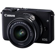 Canon EOS M10 Black + EF-M 15–45 mm f/3,5 – 6,3 IS STM - Digitálny fotoaparát