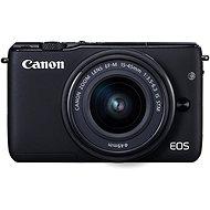 Canon EOS M100 černý + M15-45mm stříbrný - Digitálny fotoaparát