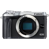 Canon EOS M6 telo strieborný - Digitálny fotoaparát