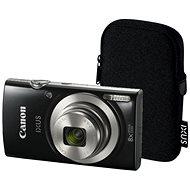 Canon IXUS 185 čierny Essential Kit - Digitálny fotoaparát
