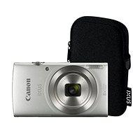 Canon IXUS 185 strieborný Essential Kit - Digitálny fotoaparát