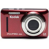 Kodak FriendlyZoom FZ53 červený - Digitálny fotoaparát