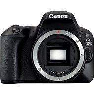 Canon EOS 200D telo čierny - Digitálny fotoaparát