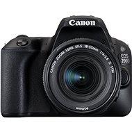 Canon EOS 200D čierny + 18 – 55 mm IS STM - Digitálny fotoaparát