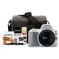 Canon EOS 200D biely + 18–55 mm IS STM + Canon Starter Kit - Digitálny fotoaparát