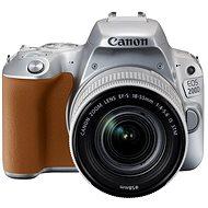 Canon EOS 200D strieborný + 18–55 mm IS STM - Digitálny fotoaparát