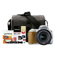 Canon EOS 200D strieborný + 18–55 mm IS STM + Canon Starter Kit - Digitálny fotoaparát