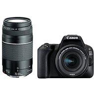 Canon EOS 200D čierny + 18–55 mm DC III + 75–300 mm DC III - Digitálny fotoaparát