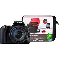 Canon EOS 200D + 18–135 mm IS STM + Canon Starter Kit - Digitálny fotoaparát