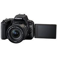Canon EOS 200D - Digitálna zrkadlovka