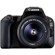 Canon EOS 200D čierny + 18-55mm DC III - Digitálny fotoaparát