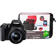 Canon EOS 200D čierny + 18–55 mm DC III + Canon Starter Kit - Digitálny fotoaparát