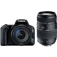 Canon EOS 200D čierny + 18–55 mm DC III + TAMRON 70–300 mm