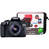 Canon EOS 1300D + EF-S 18–55 mm IS II + Canon Starter Kit - Digitálny fotoaparát
