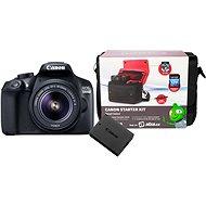 Canon EOS 1300D + EF-S 18–55 mm IS II + batéria LP-E10 + Canon Starter Kit - Digitálny fotoaparát