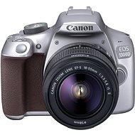 Canon EOS 1300D strieborný + EF-S 18 – 55 mm DC III - Digitálny fotoaparát