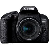 Canon EOS 800D čierny + 18–55 mm IS STM - Digitálny fotoaparát