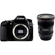 Canon EOS 80D telo + EF 17–40 mm F4 L USM - Digitálny fotoaparát