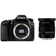 Canon EOS 80D + Sigma 17-50 mm - Digitálny fotoaparát