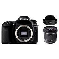 Canon EOS 80D + EF-S 10-18 mm f/4.5-5.6 IS STM + EW-73C - Digitálna zrkadlovka