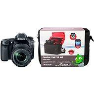 Canon EOS 80D + EF-S 18-135mm IS USM + Canon Starter Kit - Digitálny fotoaparát