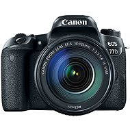 Canon EOS 77D čierny + 18–135 mm IS USM - Digitálny fotoaparát