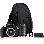 Canon EOS 77D čierny + 18–135 mm IS USM Value Up Kit