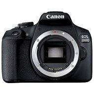 Canon EOS 2000D telo - Digitálny fotoaparát