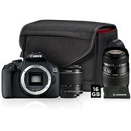 Canon EOS 2000D + 18-55mm IS II Value Up Kit + TAMRON AF 70-300mm f/4-5,6 Di pre Canon LD Macro 1:2