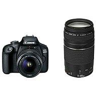 Canon EOS 4000D + 18-55mm DC III + 75-300mm DC III - Digitálny fotoaparát